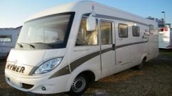 Camping car HYMER - B575 - MERCEDES - BVA