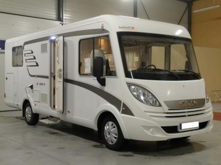 camping car HYMERMOBIL EXSIS I 598 modele 2015