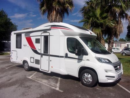 camping car BURSTNER IXEO TIME IT 734 modele 2016