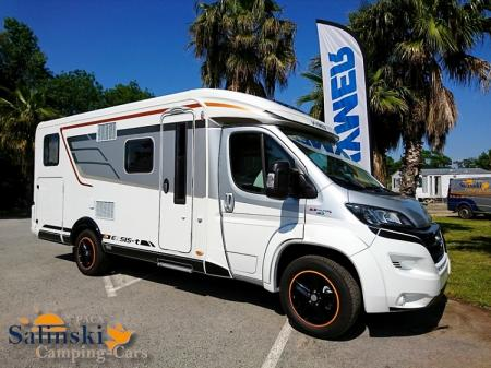 camping car HYMERMOBIL EXSIS-T 588 FACELIFT modele 2018