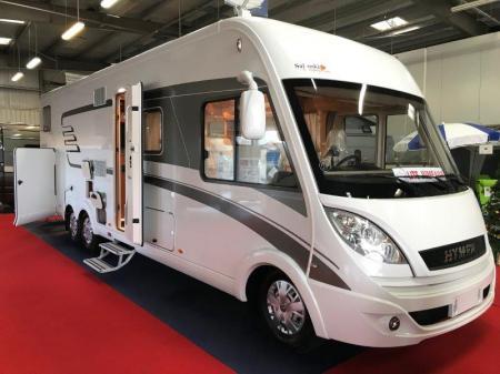 camping car HYMERMOBIL CLASSE B SL 878 modele 2015