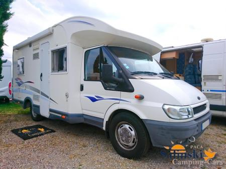camping car CHALLENGER MAGEO 108 modele 2006
