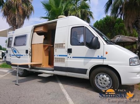 camping car ADRIA TWIN TWIN modele 2005