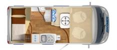 camping car HYMERMOBIL EXSIS-I 504 modele 2019
