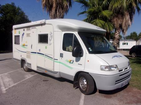 camping car CHAUSSON ALLEGRO 69 modele 2002