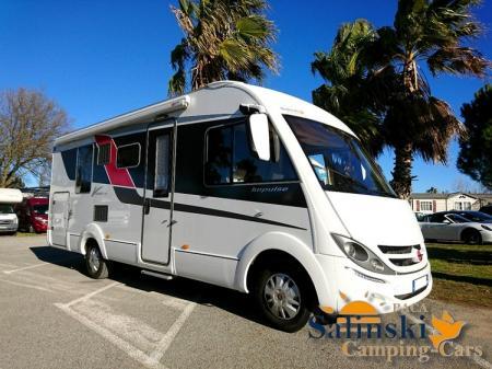 camping car BURSTNER VISEO I 720G modele 2016