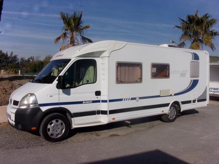 camping car DETHLEFFS ESPRIT 6844 RT modele 2005