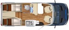 camping car HYMERMOBIL VAN S S520 modele 2017