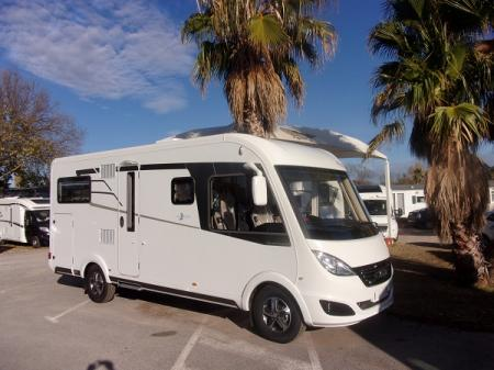 camping car HYMERMOBIL B-DL DUO MOBIL 534  modele 2017