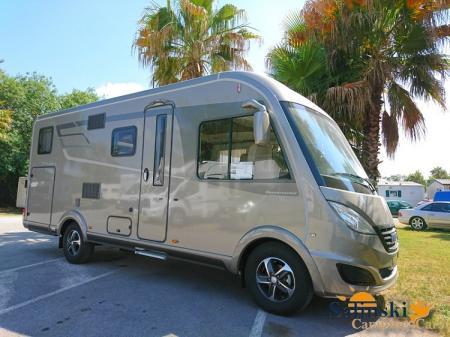 camping car HYMERMOBIL B-DL 588DL modele 2017