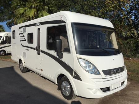 camping car HYMERMOBIL EXSIS I 588 modele 2017