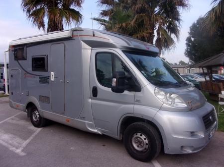 camping car BURSTNER TRAVEL  VAN 570 G modele 2008