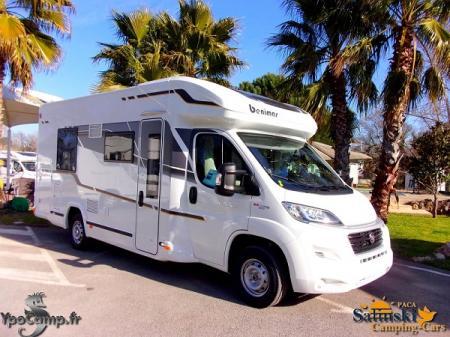 camping car BENIMAR MILEO MILEO 282 modele 2017