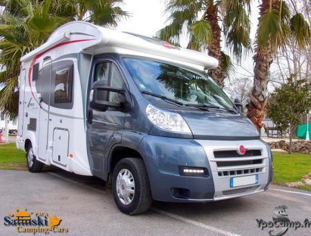 camping car BURSTNER IXEO TIME IT 590 modele 2013