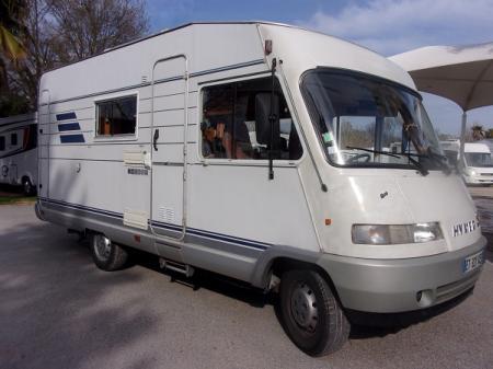 camping car HYMERMOBIL B564 . modele 1996