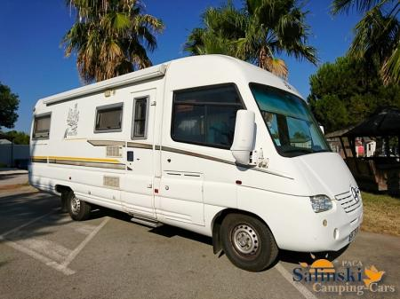 camping car ESTEREL MANHATTAN 29 TS modele 2001