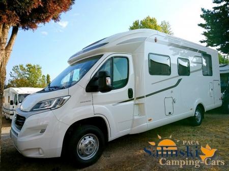 camping car HYMERMOBIL TRAMP CL 698 modele 2018
