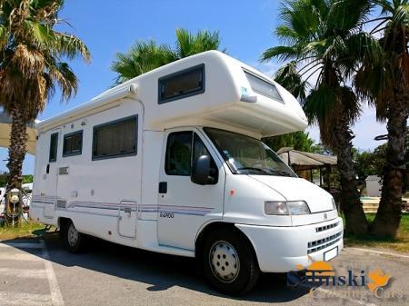 camping car RAPIDO LE RANDONNEUR 890 F modele 2001
