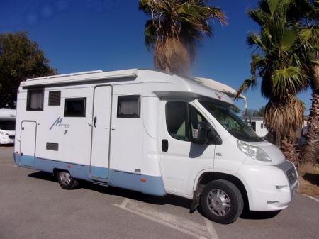 camping car BURSTNER MARANO T675 modele 2008