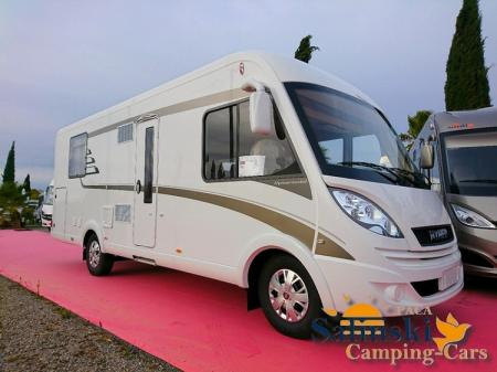 camping car HYMERMOBIL B CL 698 modele 2018