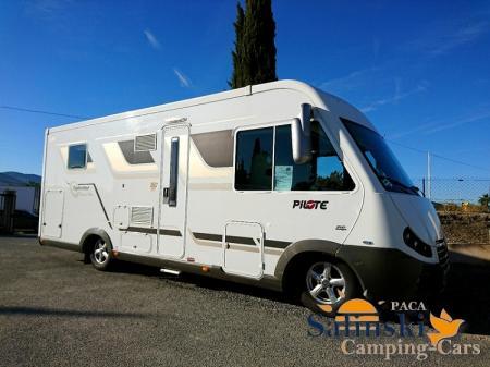 camping car PILOTE G742 DIAMANT modele 2013