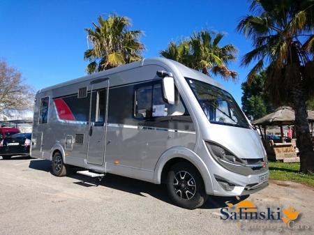 camping car BURSTNER IXEO I 744 modele 2018