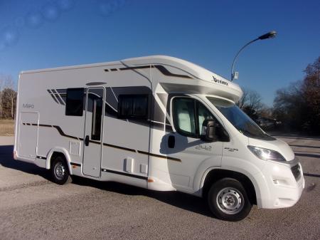 camping car BENIMAR MILEO 242 modele 2018