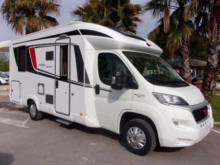 camping car BURSTNER LYSEO IT 700 modele 2018
