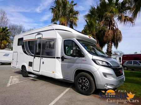 camping car BURSTNER LYSEO HARMONY LINE IT 736H modele 2018