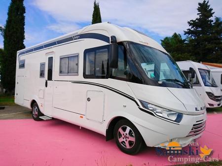 camping car LAIKA ECOVIP 710 modele 2015
